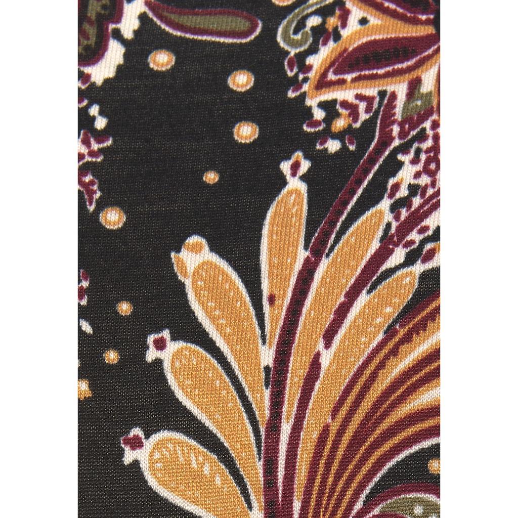 LASCANA Maxikleid, mit Paisleyprint