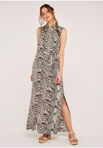 Apricot Maxikleid »Apricot Mix Animal Shirt Maxi Dress«, (mit Bindegürtel), mit... kaufen
