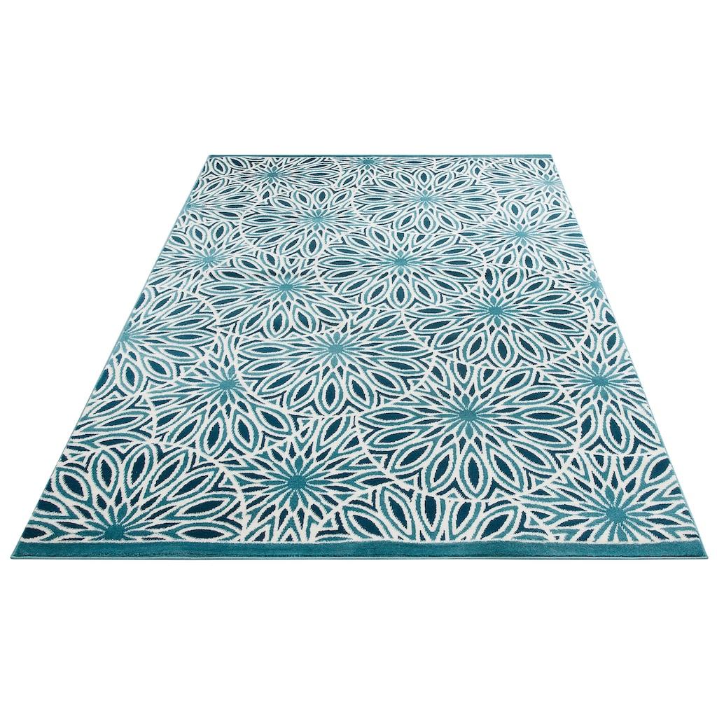 my home Teppich »Ronja«, rechteckig, 11 mm Höhe, weiche Haptik, Wohnzimmer