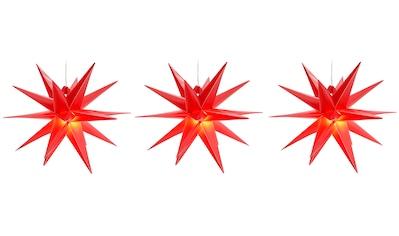 BONETTI LED Stern, Warmweiß, 3D-Optik, Batteriebetrieb, Ø 25 cm kaufen