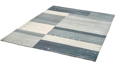 Wollteppich, »Wesley«, Dekowe, rechteckig, Höhe 15 mm, handgewebt kaufen