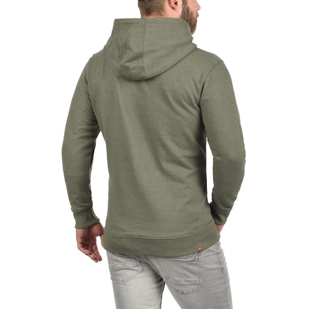 Blend Kapuzensweatjacke »Hulker«, Sweatshirtjacke mit weicher Fleece Innenseite