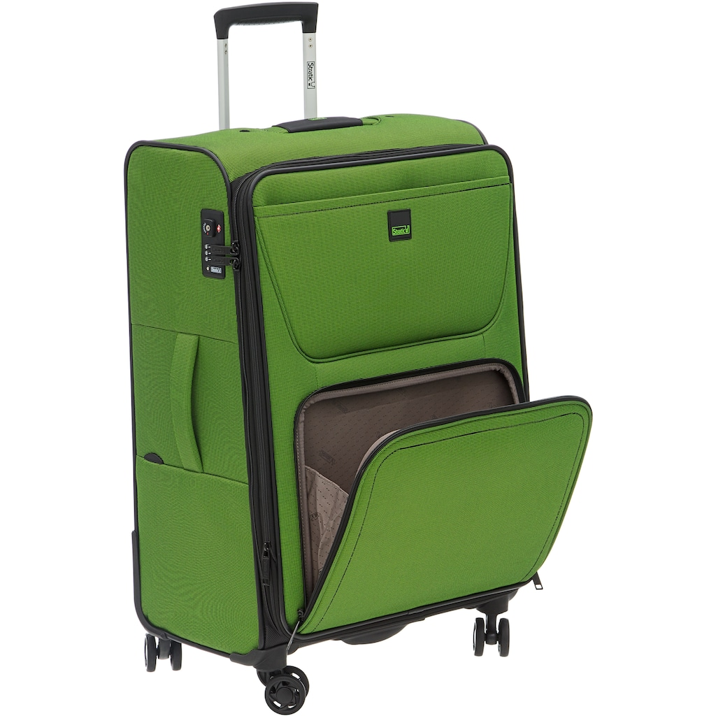 Stratic Weichgepäck-Trolley »Bendigo Light, 84 cm«, 4 Rollen
