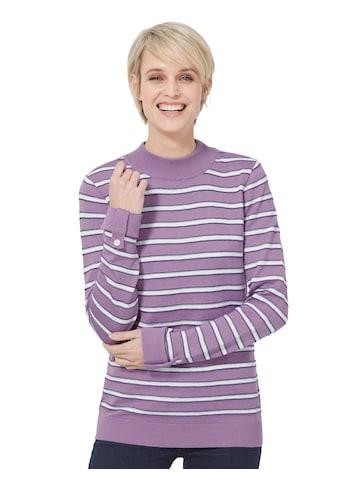 Casual Looks Pullover mit modischen Streifen kaufen