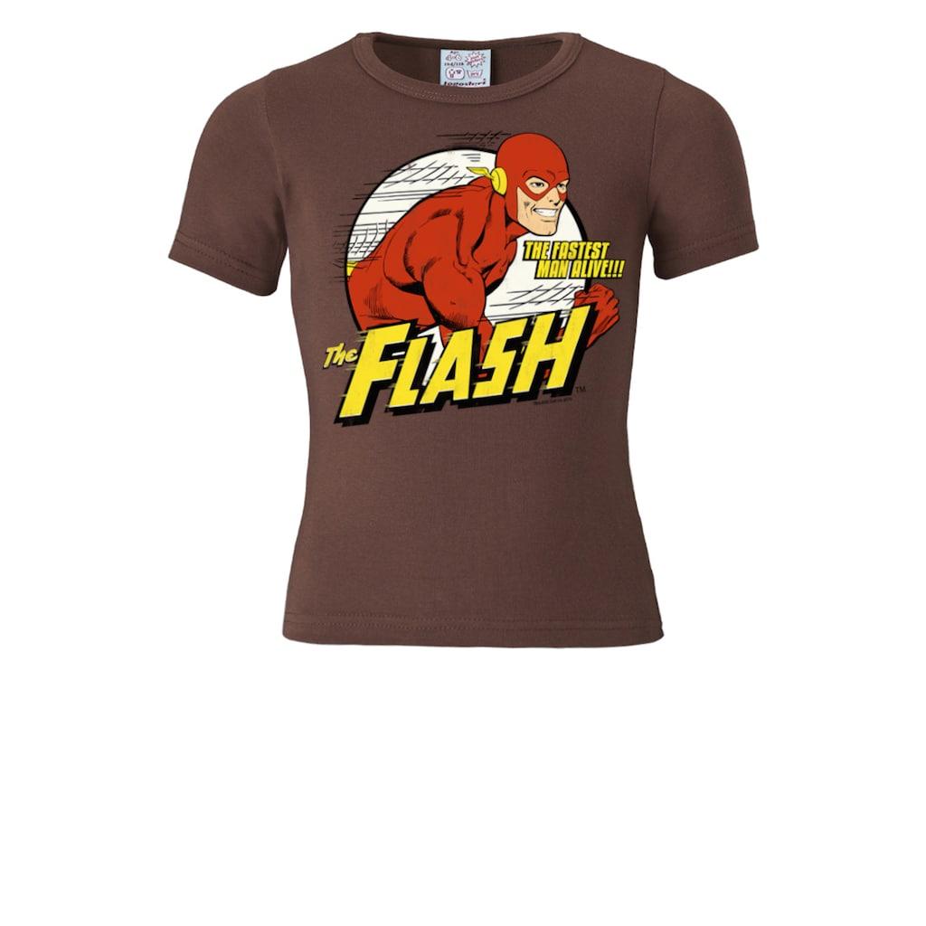 LOGOSHIRT T-Shirt mit coolem Superhelden-Druck
