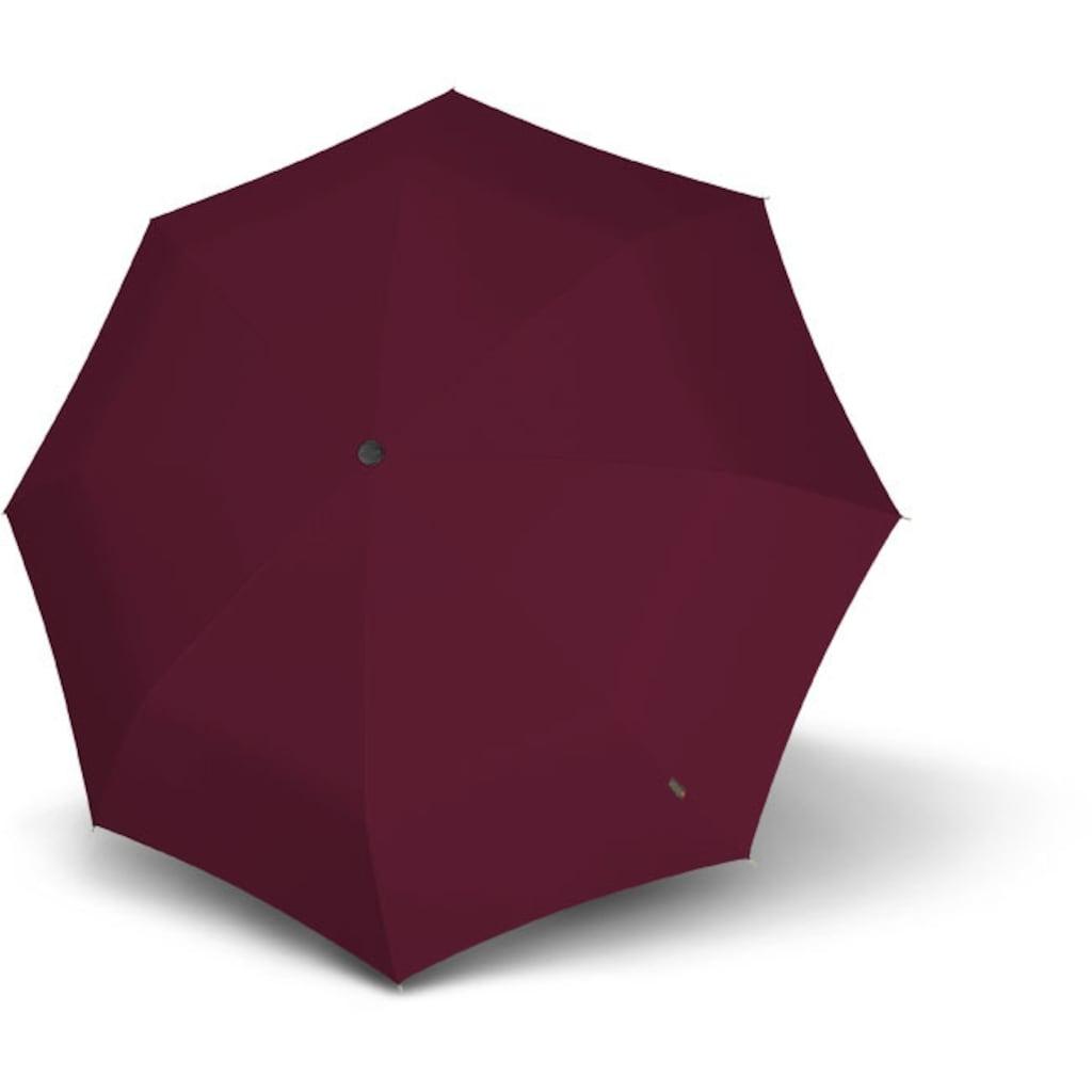 Knirps® Taschenregenschirm »T.200 Medium Duomatic, Bordeaux«
