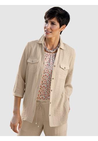 Paola Bluse in Leinenoptik kaufen