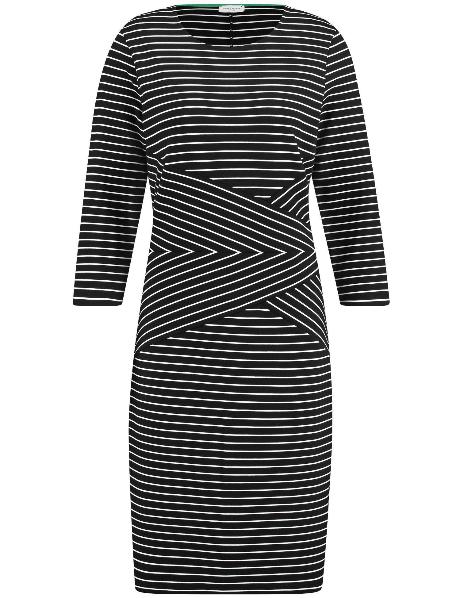 GERRY WEBER Kleid Gewirke Kleid mit Ringeldessin