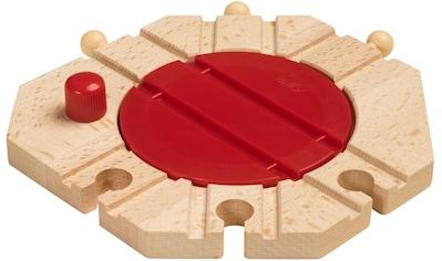BRIO® Spielzeugeisenbahn-Kreuzung »BRIO® WORLD Mechanische Drehscheibe«, FSC®-Holz aus... kaufen