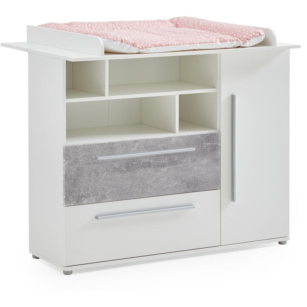 arthur berndt Babyzimmer-Komplettset »Rabia«, (Set, 3 St.), Made in Germany; mit Kinderbett, Schrank und Wickelkommode