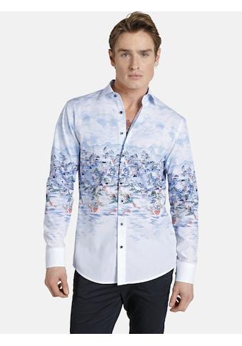 SHIRTMASTER Langarmhemd »chinesebeauty«, Szenischer All Over Druck kaufen