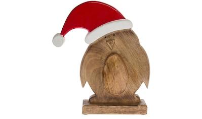 Weihnachtsfigur »Vogel mit Nikolausmütze« kaufen