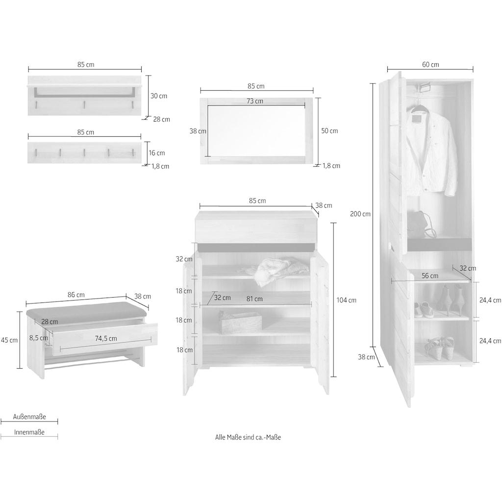 Garderoben-Set »Wels«, (Set, 6 St.)