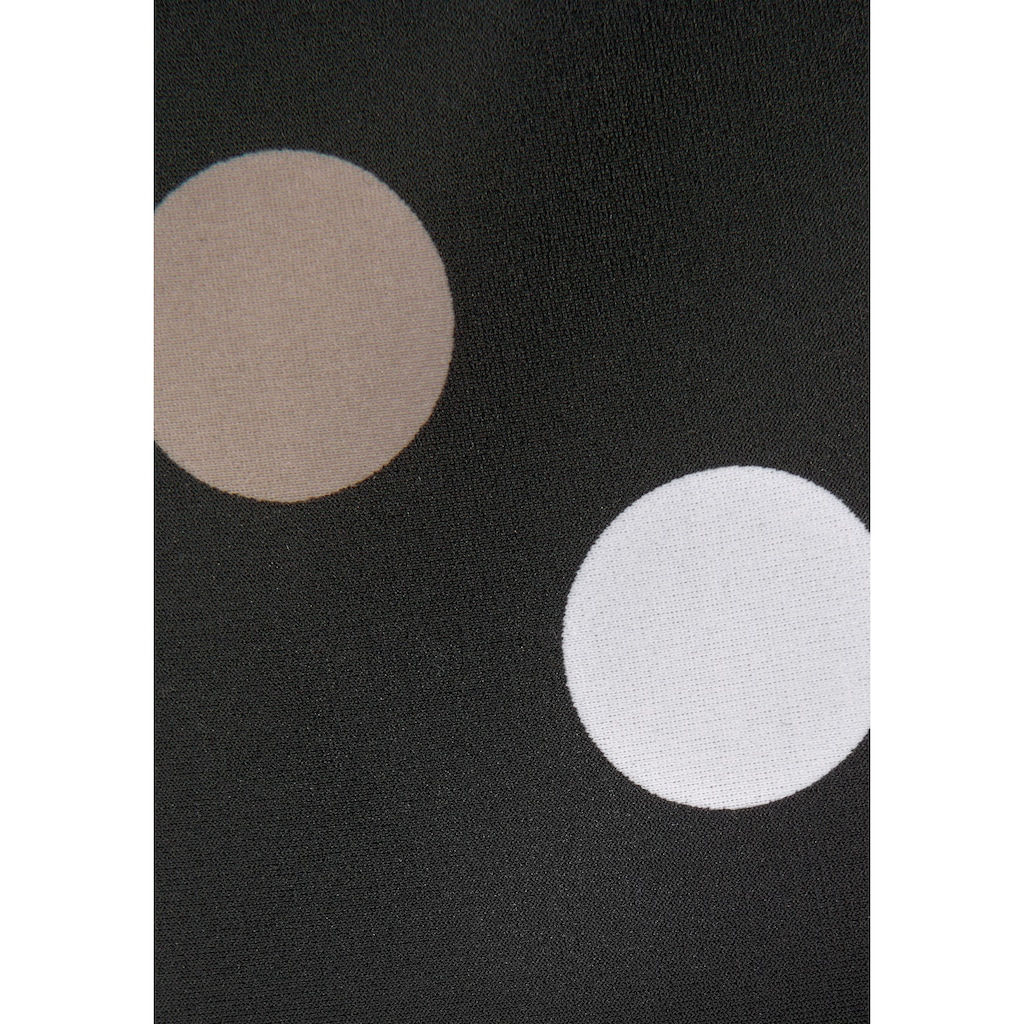 LASCANA Bügel-Tankini, im trendigen Punkte-Design