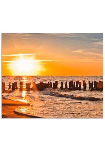 Artland Küchenrückwand »Schöner Sonnenuntergang am Strand«, selbstklebend in vielen... kaufen