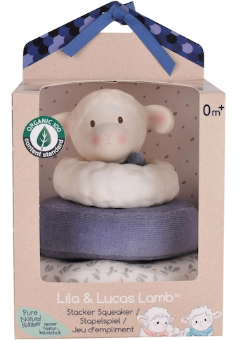 TIKIRI Stapelspielzeug »Lucas Lamm«, aus zertifizierter Bio-Baumwolle (Organic Content... kaufen