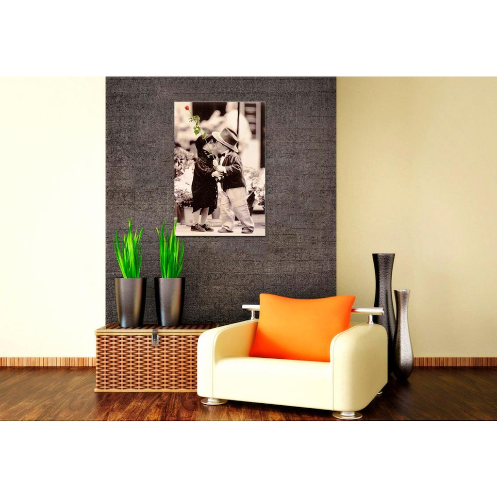 Home affaire Deco-Panel »The first Kiss«, 60/90 cm