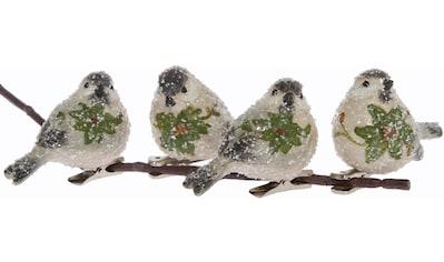 """Weihnachtsbaumklammer """"Vögel"""" (4 - teilig) kaufen"""
