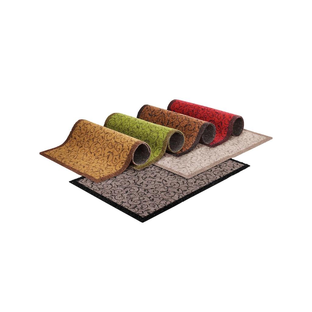 Fußmatte, rechteckig, 1 mm Höhe