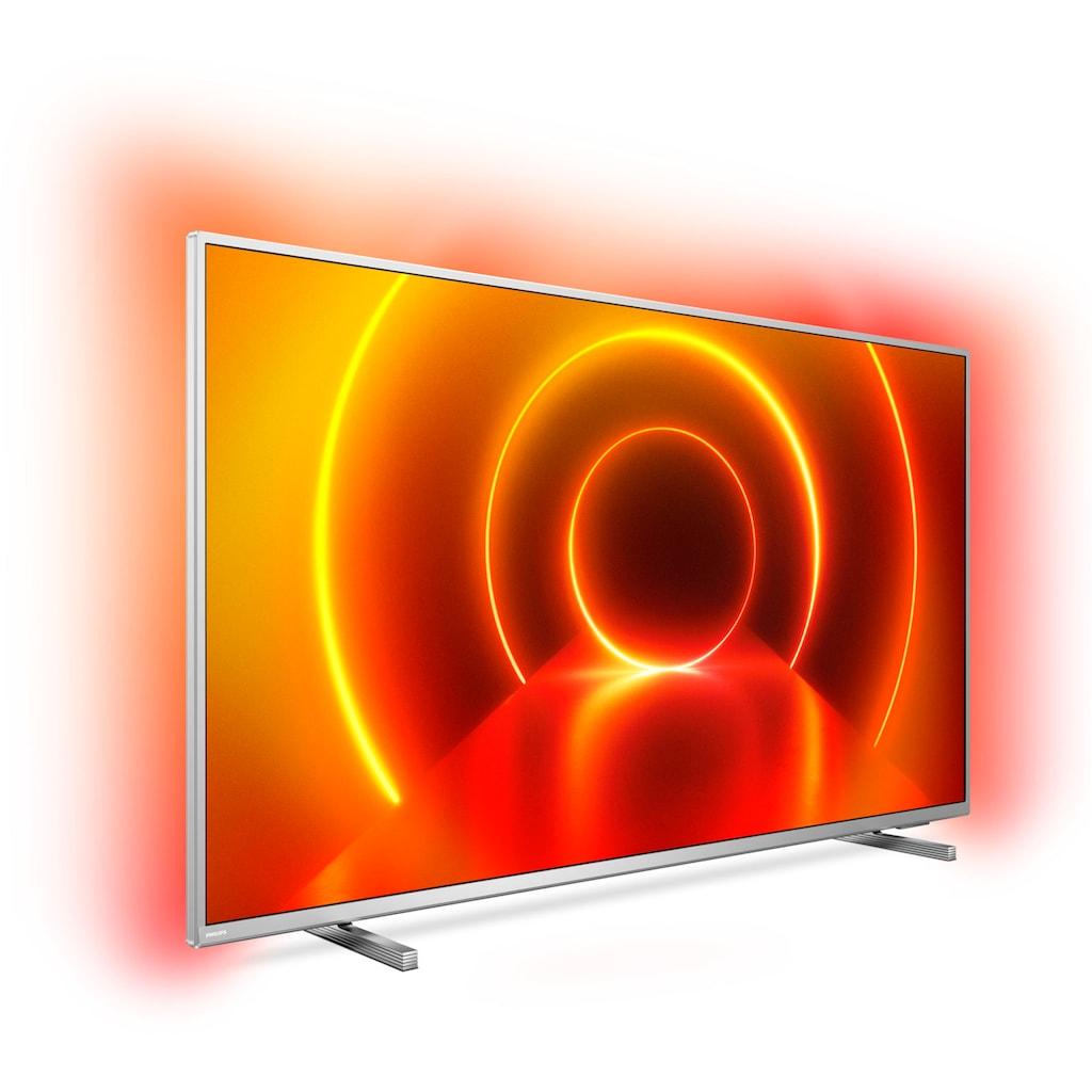 "Philips LED-Fernseher »50PUS8105/12«, 126 cm/50 "", 4K Ultra HD, Smart-TV, 3-seitiges Ambilght"