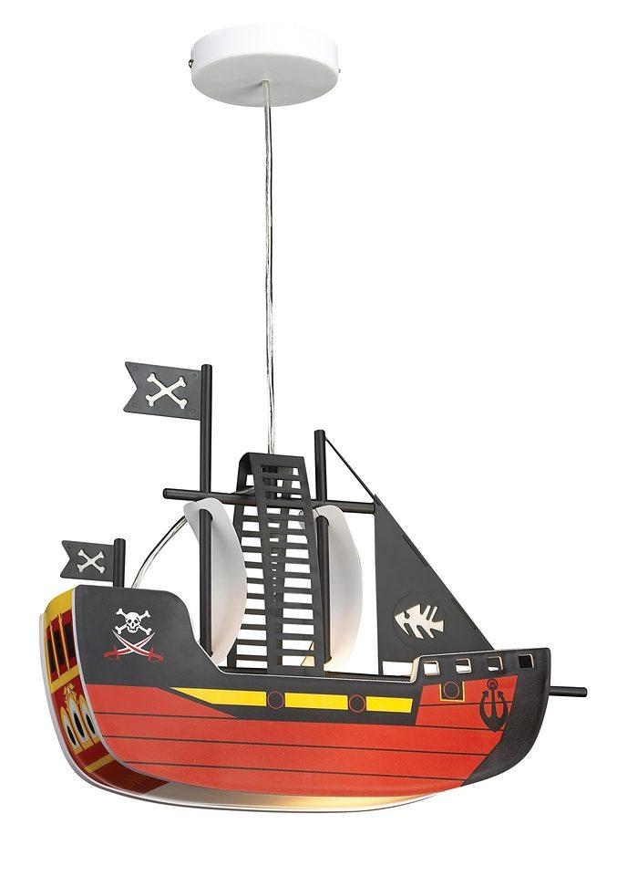 Rabalux Pendelleuchte Piratenschiff, E27, Hängeleuchte, Hängelampe