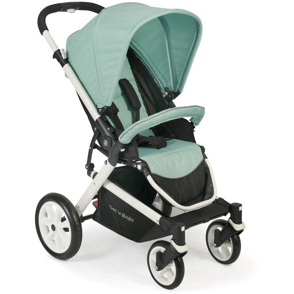 CHIC4BABY Sport-Kinderwagen »Boomer, mint«, mit schwenk- und feststellbaren Vorderrädern; Kinderwagen, Buggy, Sportwagen, Kinder-Buggy, Kinderbuggy