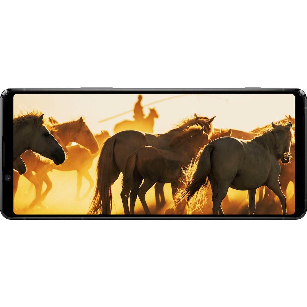 """Sony Smartphone »Xperia 1 II«, (16,5 cm/6,5 """" 256 GB Speicherplatz, 12 MP Kamera), SIM Free"""