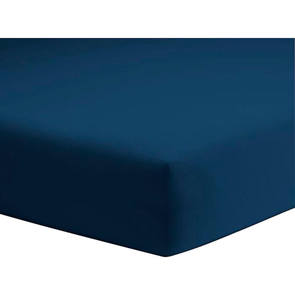 Schlafgut Spannbettlaken »Jersey-Elasthan«, für faltenfreien Sitz