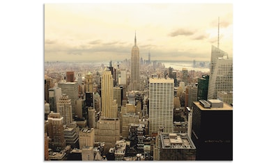 "Artland Küchenrückwand ""Skyline Manhattan  -  New York"", (1 - tlg.) kaufen"