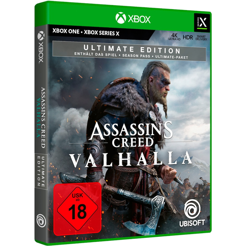 UBISOFT Spiel »Assassin's Creed Valhalla - Ultimate Edition«, Xbox One