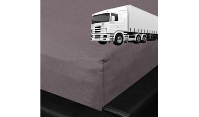 BETTWARENSHOP Spannbettlaken »LKW Truck«, für die Fernfahrer Schlafkabine kaufen