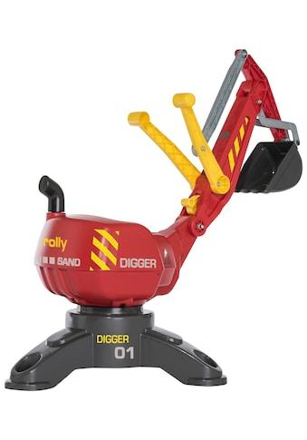 ROLLY TOYS Spielzeug - Aufsitzbagger »Digger«, BxLxH: 43x102x74 cm kaufen