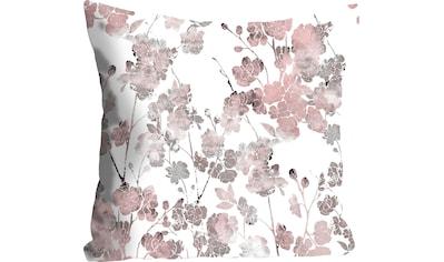 queence Kissenhülle »Christoph«, (1 St.), mit pastellfarbenen Blumen kaufen