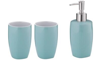 KELA Set: Bad - Accessoire - Set »Lindano«, Keramik, 3tlg. kaufen