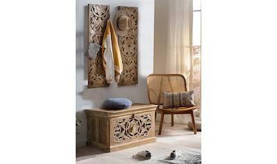 SIT Garderoben-Set »Lakadee«, (3 St.), mit orientalischen Schnitzereien kaufen