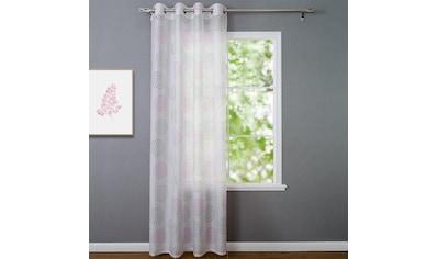 Kutti Vorhang »Bella«, mit 8 silbernen Ösen kaufen