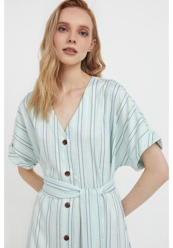 Finn Flare Jerseykleid, mit modischem Streifenprint kaufen