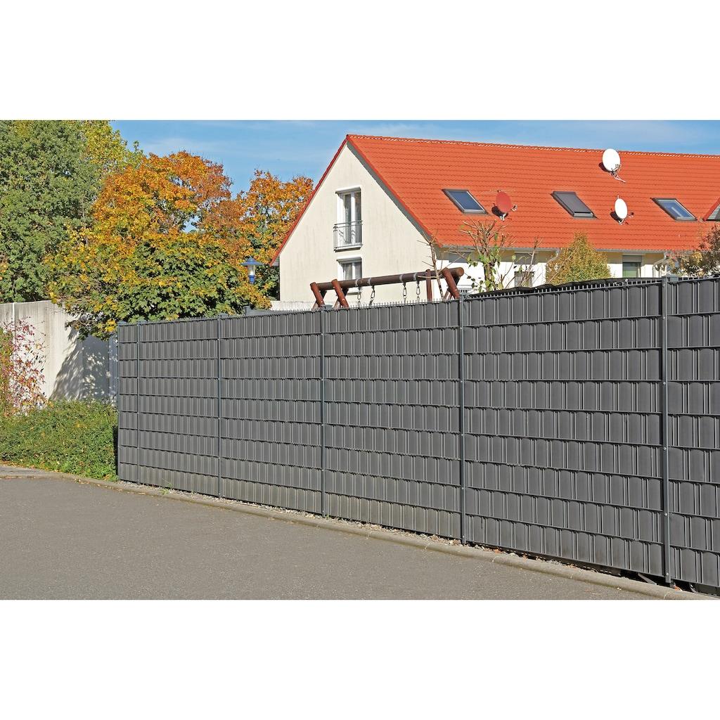 GAH Alberts Sichtschutzstreifen, 35 m Rolle, 19 cm Höhe