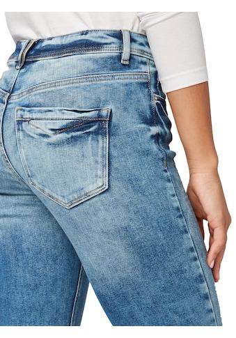 TOM TAILOR Slim - fit - Jeans »Kate Slim Jeans in Ankle - Länge« kaufen