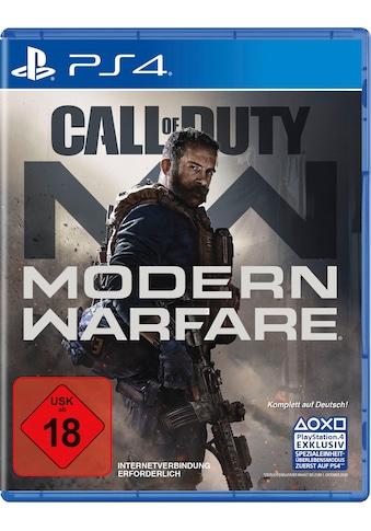Activision Spiel »Call of Duty Modern Warfare«, PlayStation 4 kaufen