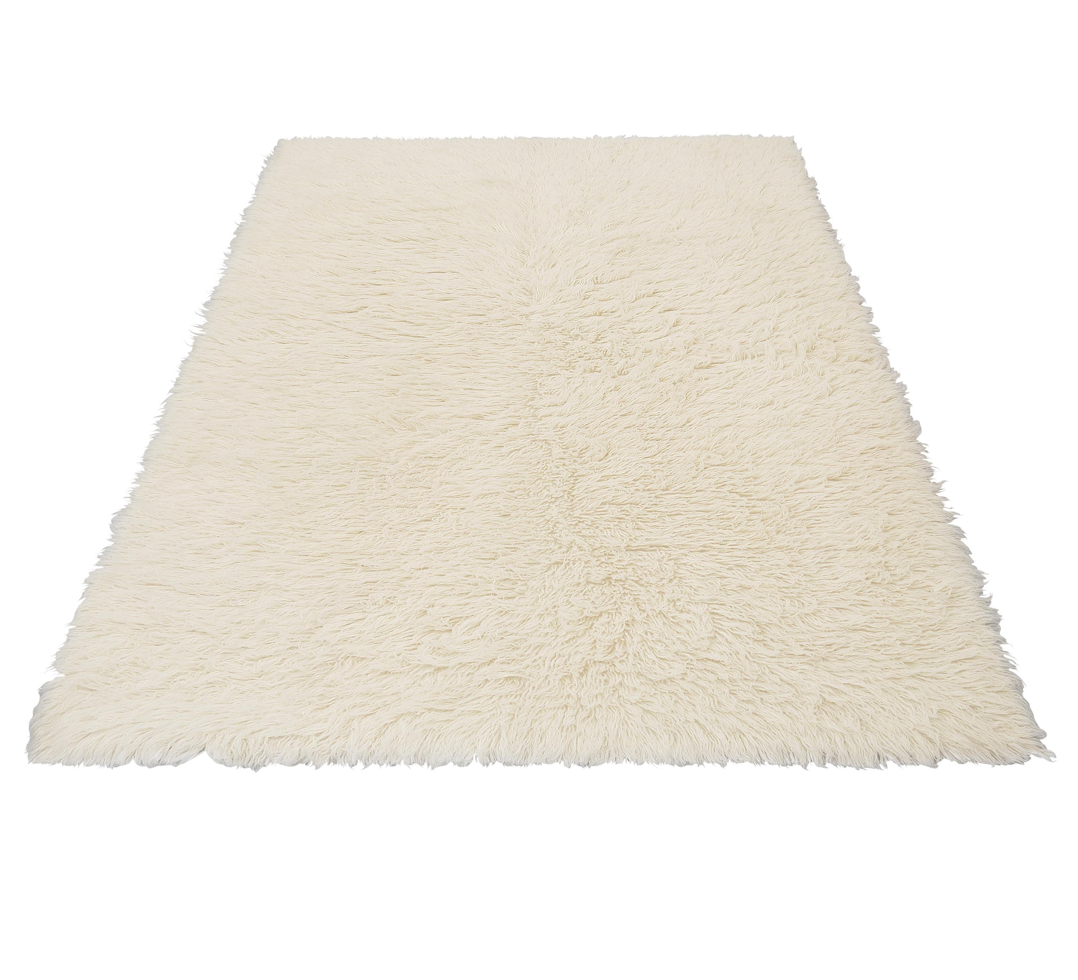 Hochflor-Teppich Flokos 1 Theko Exklusiv rechteckig Höhe 40 mm handgewebt