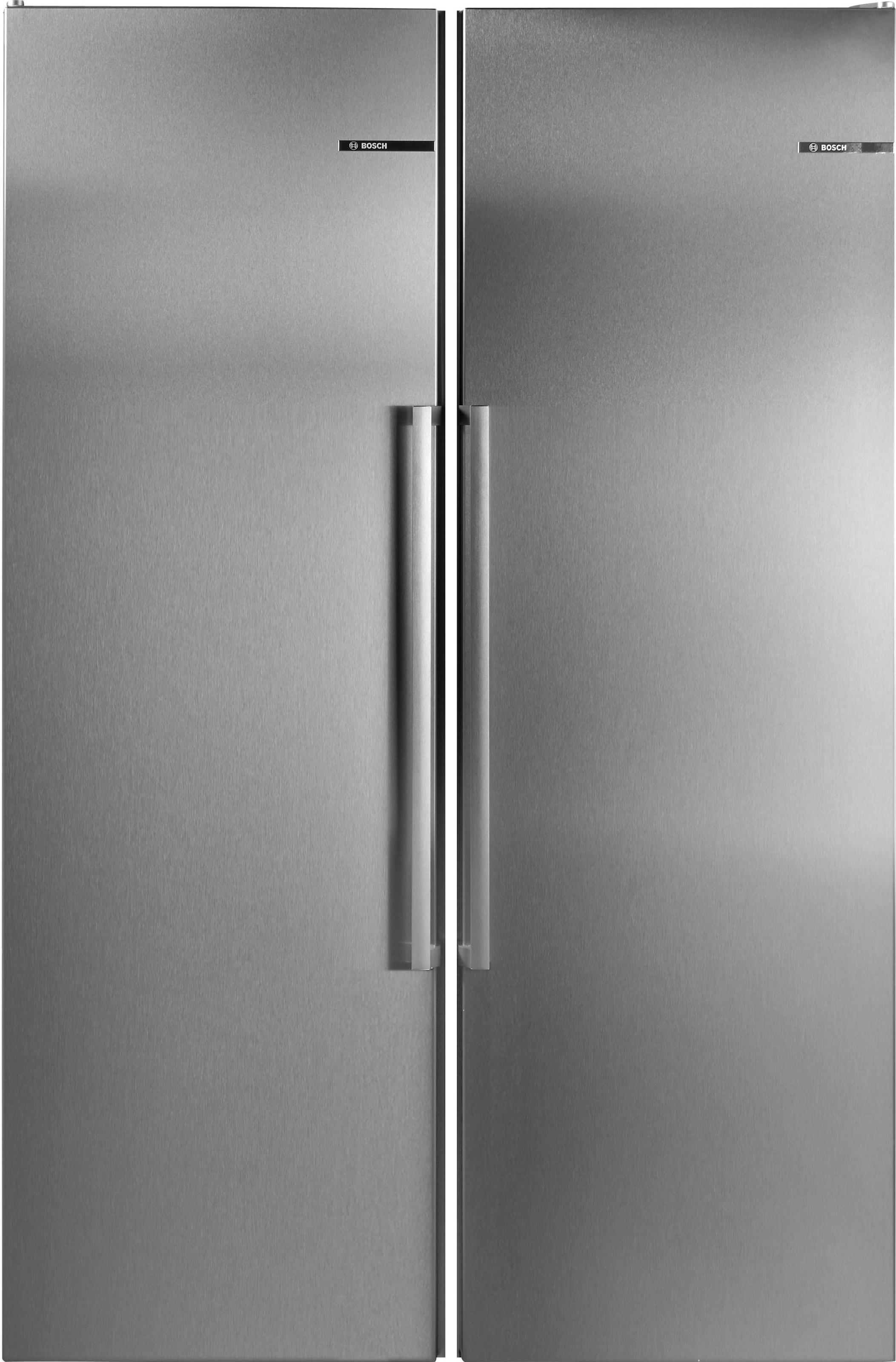 Side By Side Kühlschrank Liegend Transportieren : Bosch side by side cm hoch cm breit auf raten baur