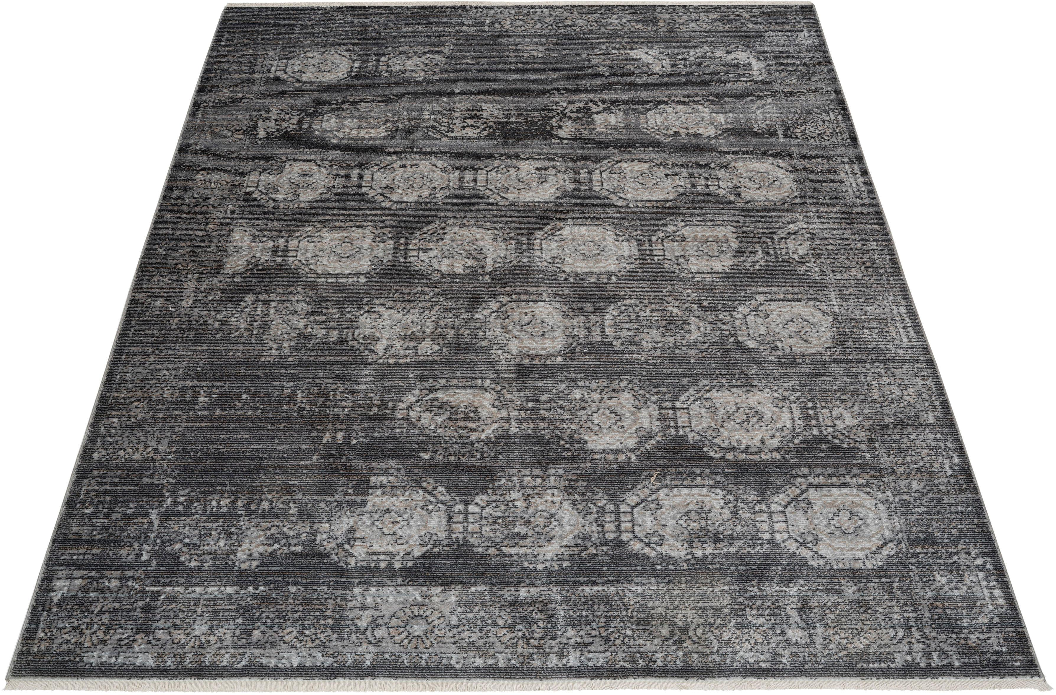 Teppich Mason Bruno Banani rechteckig Höhe 5 mm maschinell gewebt