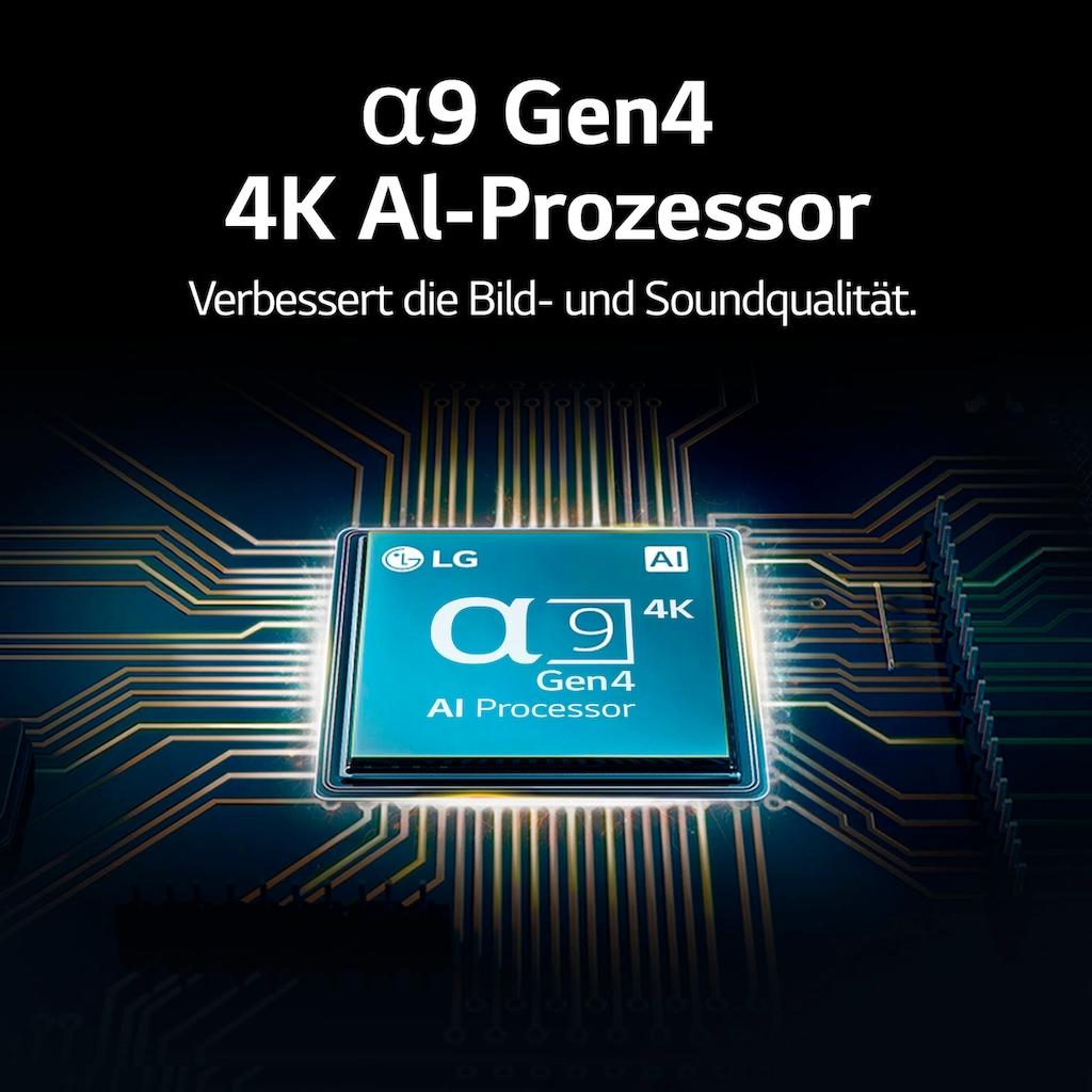 """LG OLED-Fernseher »OLED65C17LB«, 164 cm/65 """", 4K Ultra HD, Smart-TV, (bis zu 120Hz)-α9 Gen4 4K AI-Prozessor-Twin Triple Tuner-Sprachassistenten-HDMI 2.1"""