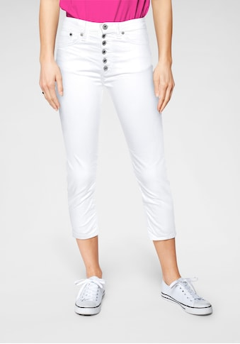 Please Jeans Röhrenjeans »P 36H«, mit markanter 6 Knopfleiste kaufen