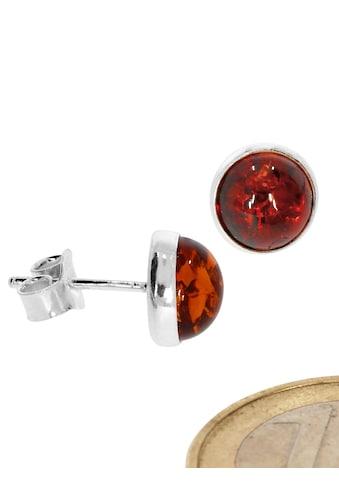 Adelia´s Paar Ohrhänger »Bernstein Ohrschmuck 925 Silber« kaufen
