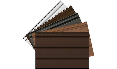 Baukulit VOX Verkleidungspaneel »SOFFIT - Musterset«, weiß kaufen