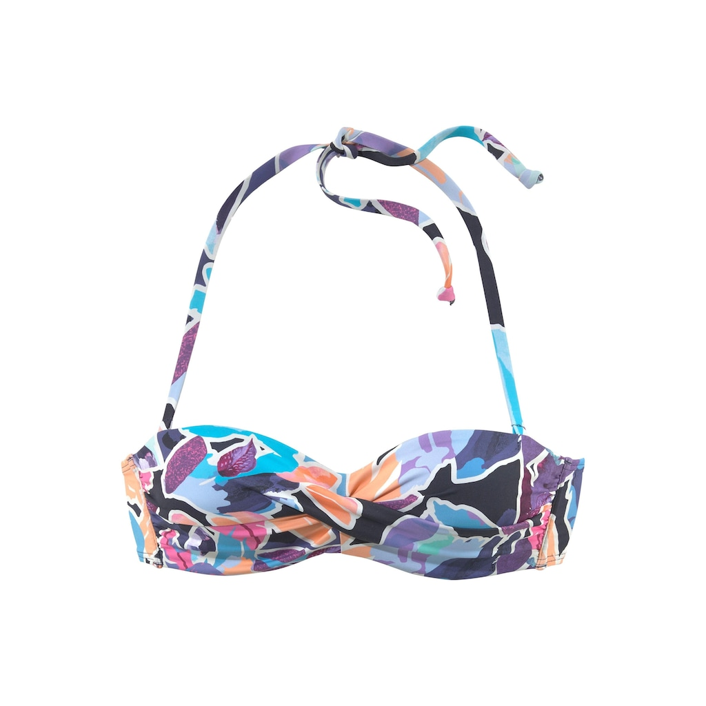 Sunseeker Bügel-Bandeau-Bikini-Top »Tahiti«, mit getwisteten Cups
