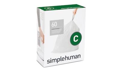 simplehuman Müllbeutel passgenaue Müllbeutel code C kaufen