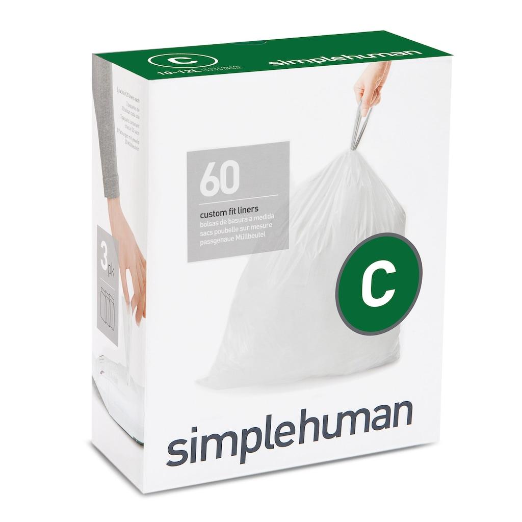 simplehuman Müllbeutel passgenaue Müllbeutel code C